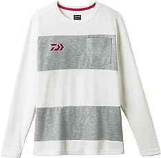ダイワ ボーダーロングスリーブシャツ DE-8407
