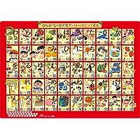 50ピース 子供向けジグソーパズル ピクチュアパズル ステップ脳シリーズ ステップ3 ひらがな・カタカナ・ローマじ パズル