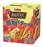 カルビー じゃがビー Jagabee 明太バター味 80g(16g×5袋)×12箱