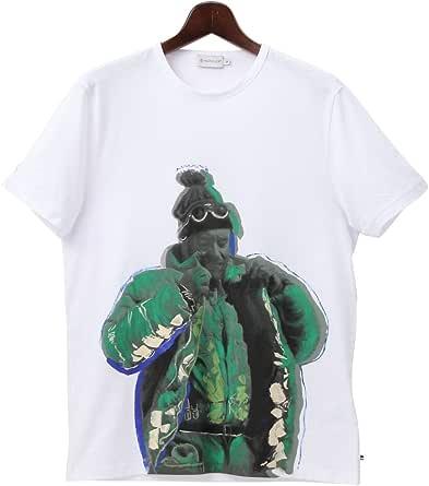 (モンクレール) MONCLER ハンドペイント 半袖 Tシャツ 【MC8006382565】 [並行輸入品]