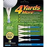 """Green Keepers 4 Yards More Golf Tees - 3 1/4"""" (4)"""
