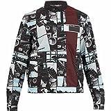 (プラダ) Prada メンズ アウター ジャケット Comic-strip stand-collar jacket [並行輸入品]