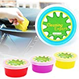 CHEERS DEVICES 4-Pack Car Cleaning Gel Detailing Putty for Key Pad Computer Vacuum Cleaner Interior Universal Dust PC Tablet