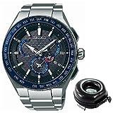 【セット】[セイコー]SEIKO 腕時計 SBXB133 [アストロン]ASTRON HondaJet Special Limited Edition&腕時計ケース 1本用 丸型 watch-case