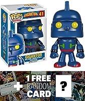鉄人28号: 。Funko POP X Gigantorビニールフィギュア+ 1FreeアニメテーマTradingカードバンドル[ 52522] [ Parallel import goods ]
