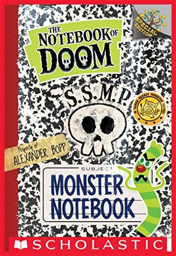 Monster Notebook: A Branches Book (The Notebook of Doom)