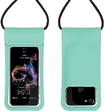 防水ケース スマホ iPhoneX/8/7/6/Plus android 水面上にフローティング 海水浴 潜水 お風呂 水泳 砂浜 水遊びなど用携帯防水ケース フォンケース カバー 全機種 対応スマホ防水ケース6インチまで対応