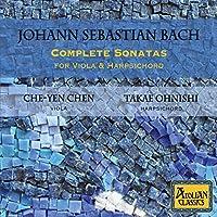Johann Sebastian Bach: Complete Sonatas For Viola And Harpsichord