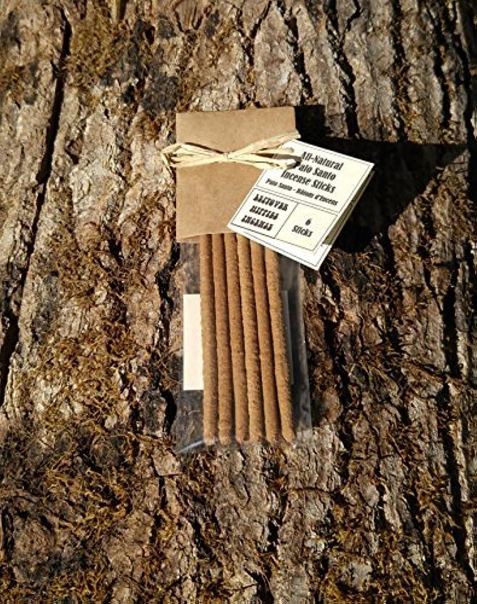 衣服廃止する科学者Palo Santo Incense Sticks - 6 Pieces - All Natural Hand Rolled Herbal Incense [並行輸入品]