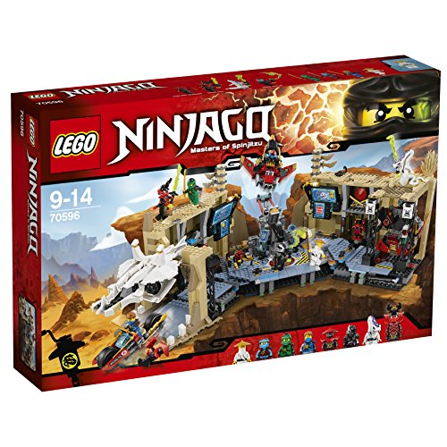 [해외] 레고 (LEGO) 닌자고 동굴 기지 닌자 베이스X 70596-70596 (2016-06-03)