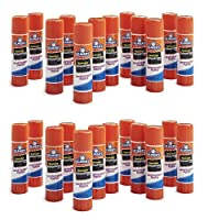 (24-Count) - Elmer's Washable Disappearing Purple Glue Sticks, 24 Pack
