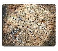 (マウスマットゲーミングマウスパッド)マウスパッドナチュラルラバーマウスパッド木の木のテクスチャ
