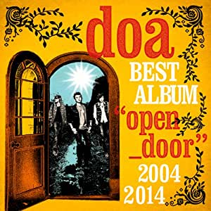 "doa BEST ALBUM""open door""2004-2014"