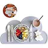 Baby Placemat, Silicone Mat - Placemat for Kids Silicone Waterproof Baby Placemat Meat Meal Mat Table Mat Cute Portable Food