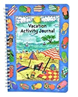 Kids Vacation Travel Activity Journal [並行輸入品]