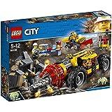 レゴ(LEGO) シティ ガリガリドリルカー 60186 おもちゃ 車