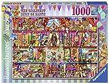 Ravensburger The Greatest Show on Earth 15254 1000ピースパズル 大人用 すべてのピースはユニーク、ソフトクリック技術でピースがぴったりと合う