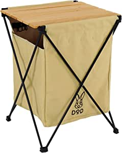 DOD(ディーオーディー) ステルスエックス ゴミを隠すゴミ箱 6種類分別 テーブル機能付き