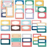 Monolike Message & Label Sticker - Retro Set, 16 Type Stickers 3 Sheet per Design Total60 Sheets