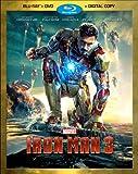 IRON MAN 3 (TWO-DISC BLU-RAY/DVD + DIGITAL COPY) 画像