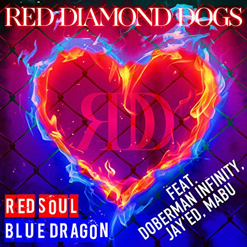 RED SOUL BLUE DRAGON