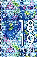 2018-2019 Student Planner Calendar - School College Weekly/Monthly Agenda - Appointment Book Organizer - (Spiral Bound) v2 [並行輸入品]