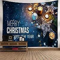 GLYY クリスマス タペストリー 装飾壁掛けタペストリー 150*230 CM 間仕切り おしゃれ インテリア 寝室 カーテン 多用途 マルチカバー タペストリー テーブルクロス 大サイズ A19
