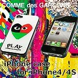 iphone4/4S 専用ケース 全2色 プレイ コムデギャルソン画像①