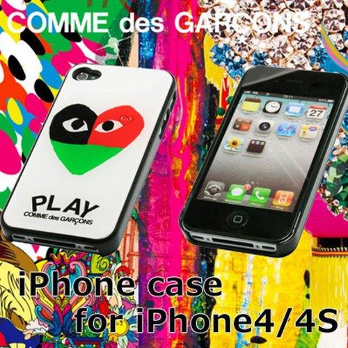 iphone4/4S 専用ケース 全2色 プレイ コムデギャルソン