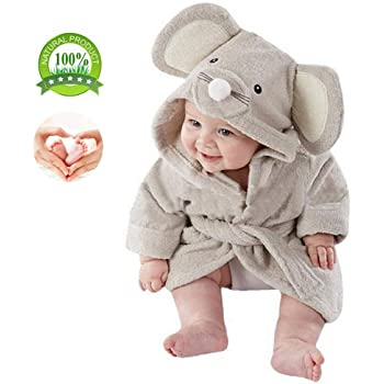9edfe20a6c675 ベビー バスローブ 赤ちゃん ポンチョ マント アニマル ベビー タオル ポンチョ 子供 可愛い 動物柄 お風呂 吸水