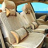 ZGFlhq 車のクッションは夏のアイスシルククッションインテリア用品の完全な万能の四季,デラックスな金 -