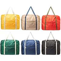 TVで話題の洗える 大型 お買い物 ボストンバッグ キャリー オン 旅行用 バッグ 2個セット 6個セット 折りたたみ…