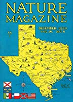 Nature Magazine–詳細なマップテキサス州の風景スポット状態にVisit 12 x 18 Art Print LANT-30024-12x18