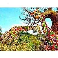 goupgolboll-動物のセクシーなカップルDIYの部分的なダイヤモンド絵画クロスステッチクラフト壁の装飾 - z176