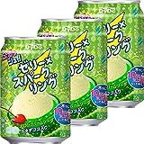 ダイドー ぷるっシュ!! ゼリー×スパークリング メロンクリームソーダ 280g×3本
