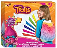 Trolls Fur Drawstring Bag Design Kit [並行輸入品]