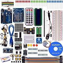 Kuman 40 in 1 Arduino用キット 初心者 アルドゥイーノメガ UNO R3対応互換ボード プロジェクタキット 基本セット K4