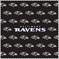 Siskiyou Sports FSCC180 Ravens Sunglass Microfiber Cleaning Cloth