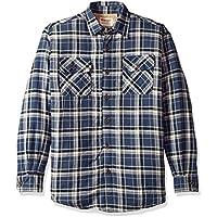 Wrangler Mens Denim Shirt Jacket Long Sleeve Button Down Shirt