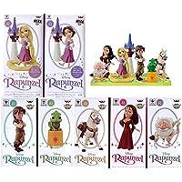 ディズニーキャラクターズワールドコレクタブルフィギュアstory02「塔の上のラプンツェル」 【全7種類コンプリセット】