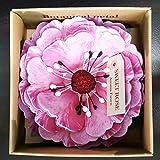 花びら付箋 (38316)Botanical petal paul gauguin(ポールゴーギャン) スイートローズの香り スモールサイズ フセン カラー:ピンク