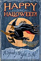 Witch–Vintage Sign 36 x 54 Giclee Print LANT-55582-36x54