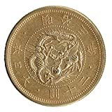World Replica Coin 明治三年 旧20円金貨 アンティーク調 オリジナルケース付き meiji3_20yen