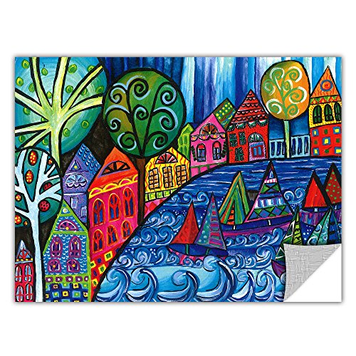 Artwall ArtApeelz Debra Purcell 'The Watershed' Removable Wall Art Graphic 14 by 18-Inch