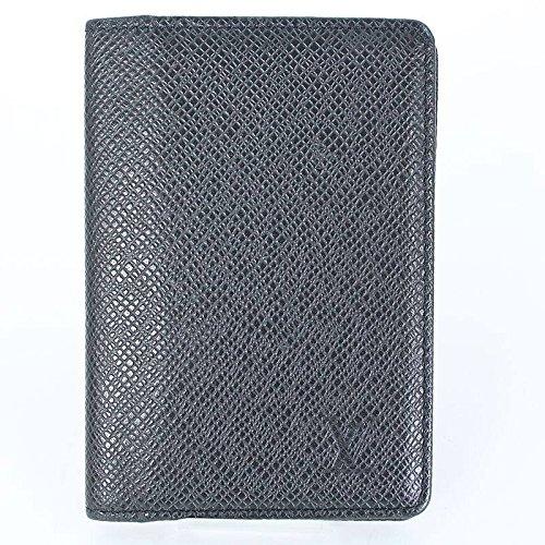 (ルイヴィトン)LOUISVUITTON 【オーガナイザードゥポッシュ】タイガライン名刺入れカードケース(ブラック) 中古