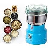 DSOW 製粉機 家庭用 小型 電動粉砕機 コーヒーミル スパイスミル 家庭用穀物製粉機 乾燥食品製粉器 漢方薬 粉末ミル グラインダー