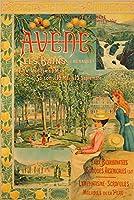 Avene Les BainsヴィンテージポスターフランスC。1896 24 x 36 Giclee Print LANT-62536-24x36