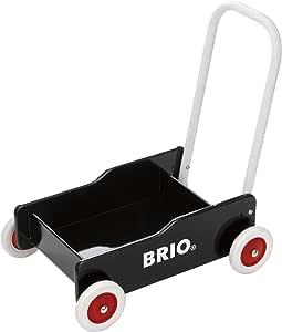 BRIO (ブリオ) 手押し車 ブラック [ 木製 おもちゃ ] 31351