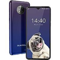 OUKITEL C19 SIMフリースマートフォンAndroid 10.0 4GデュアルSIM携帯電話6.49インチ40…