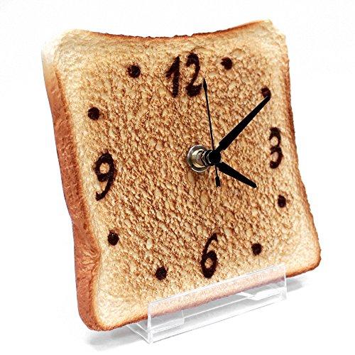 Real Gift トースト時計 sn04-3001 アナログ 置き時計 置時計 おき時計 ステップ